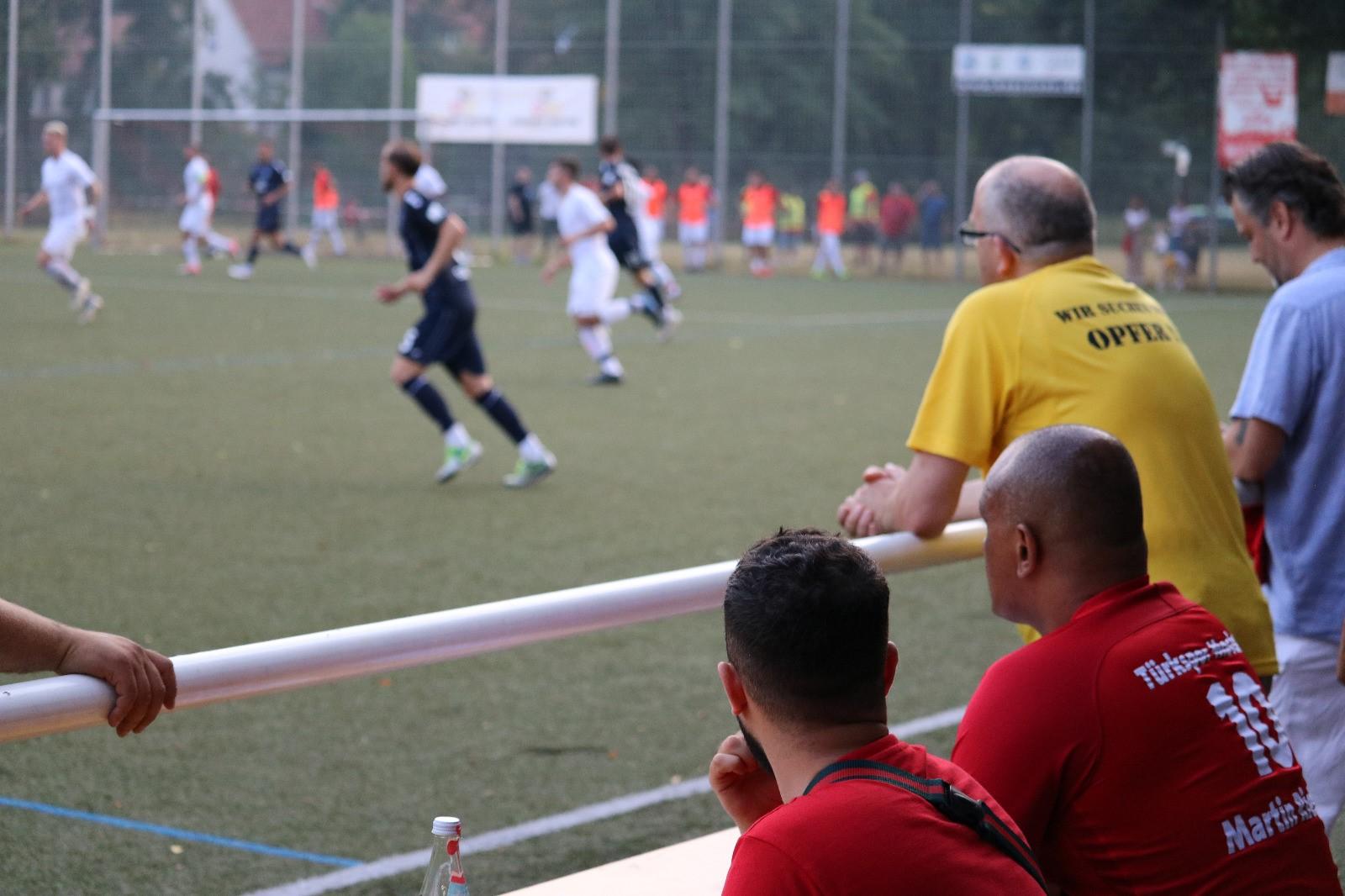 Neckarelzer Pokalspiel TS Mosbach:SV Waldhof Mannheim