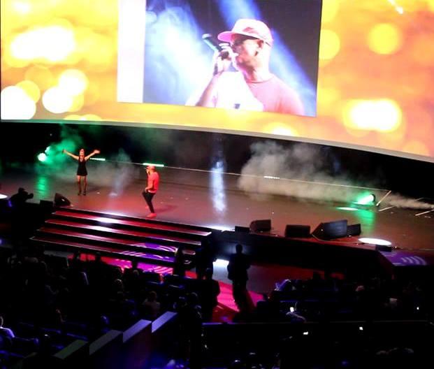 Martin Rietsch aka 2schneidig live on Stage