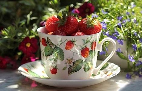 Erdbeer-Eis ohne Zucker