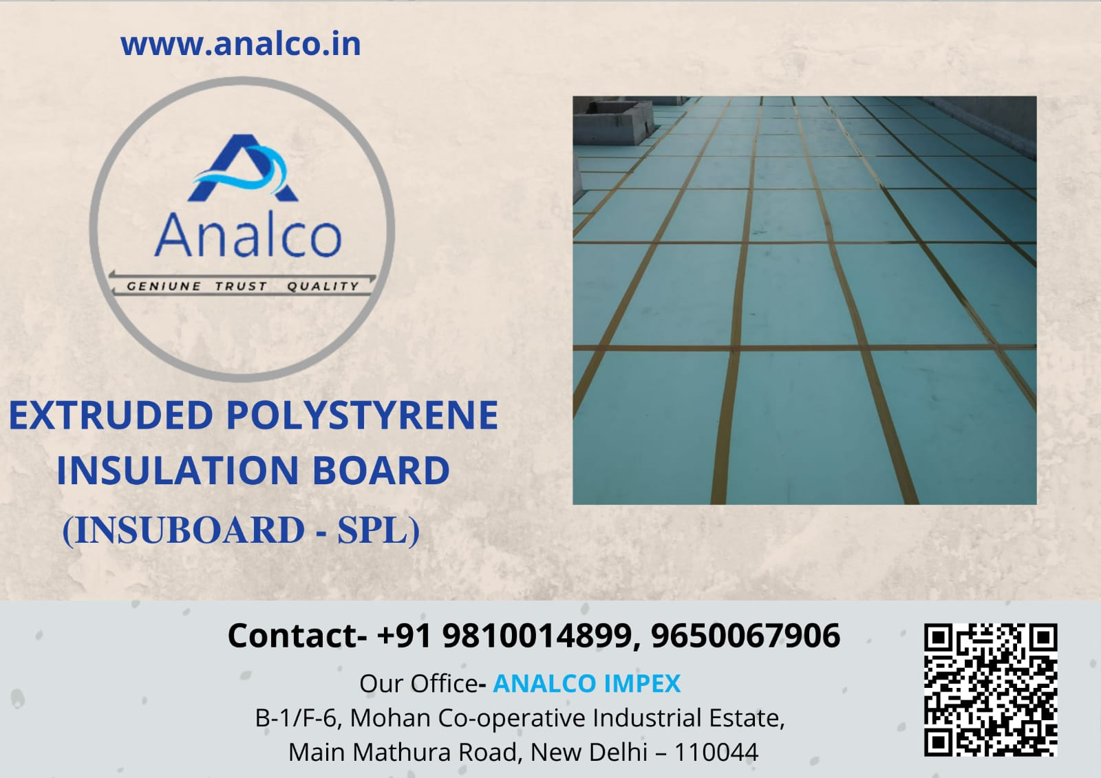 insubaord extruded polystyrene thermal insulation boards, extruded polystyrene board insulation manufacturers, XPS insulation foam board suppliers and dealers in India