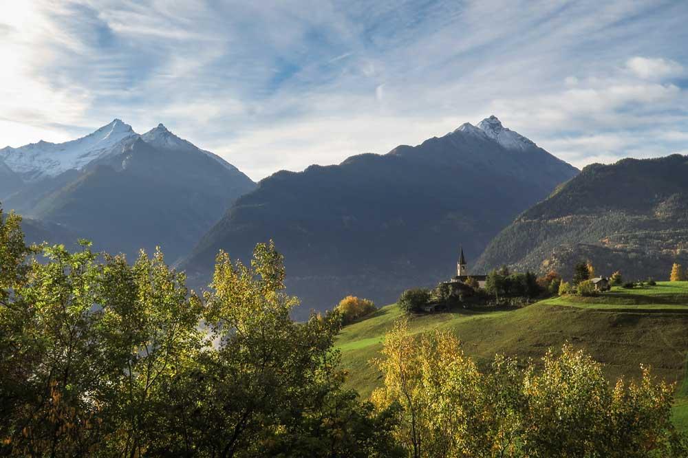 Aostatal-Kirche-Saint-Nicolas © Foto Archivio Regione Autonoma Valle d'Aosta