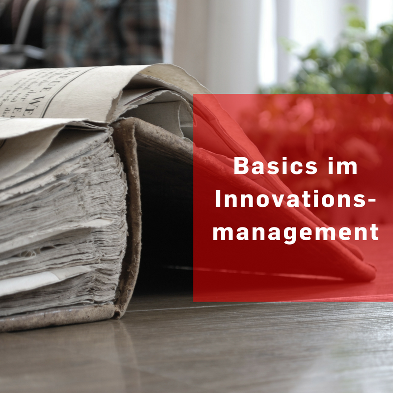Basics im Innovationsmanagement
