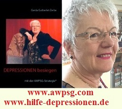 Wenn das Wort DEPRESSIONEN besiegt - auf ein Buch zutrifft, dann auf dieses hier!