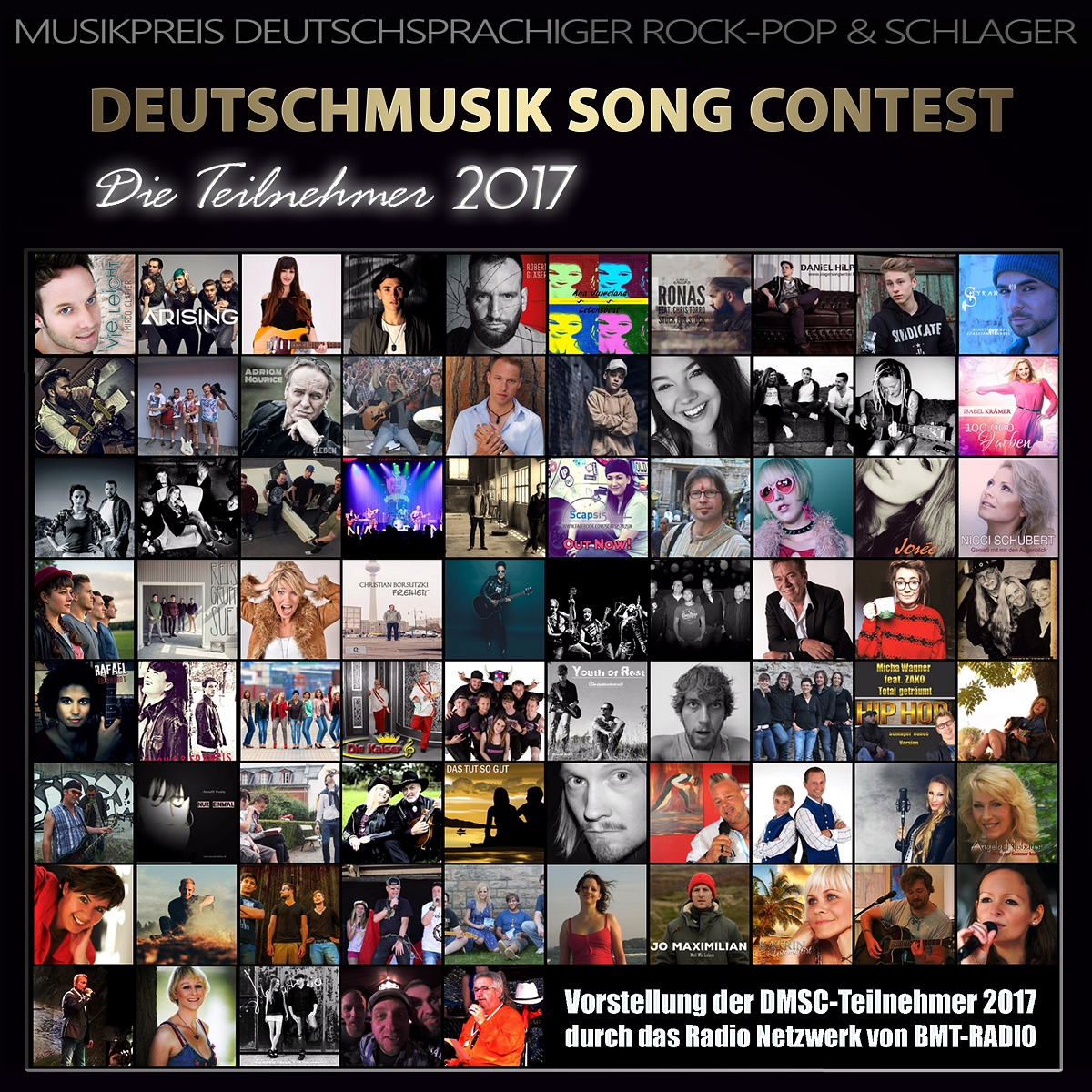 Deutschmusik Song Contest - Die Teilnehmer 2017