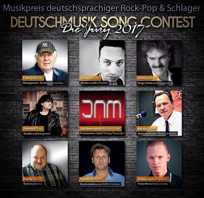 Deutschmusik Song Contest 2017 - Die Jury steht fest