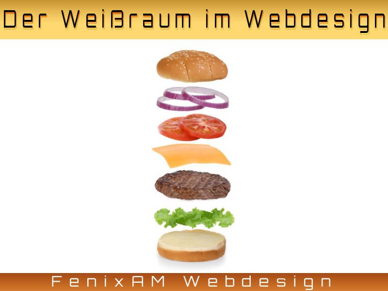 Weißraum im Webdesign - FenixAM Webdesign und SEO in Frankfurt am Main