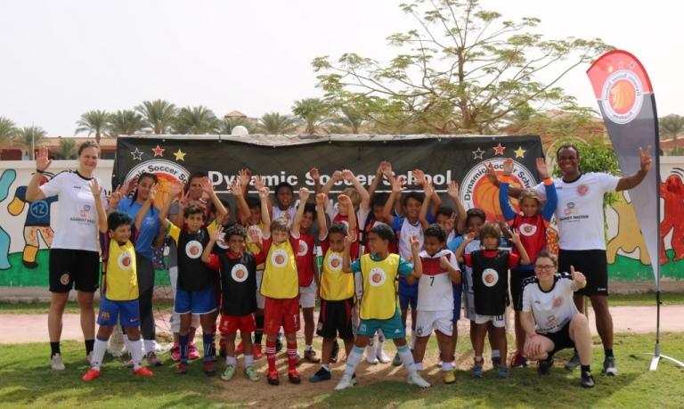 Fußballcamp der Dynamic Soccer School in Ägypten