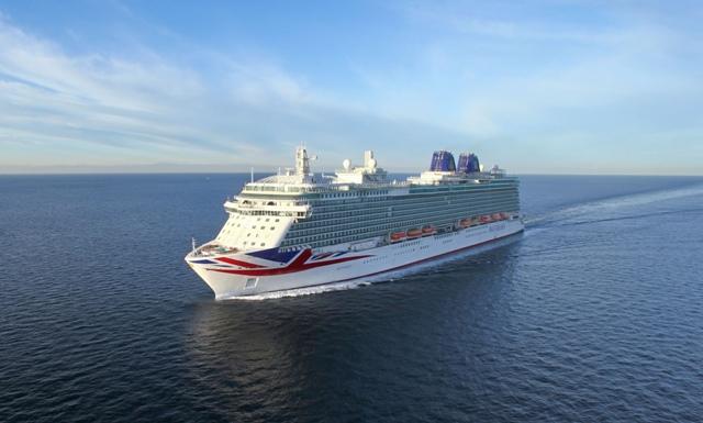 Als erstes Schiff der P&O-Flotte geht die Britannia wieder auf Kreuzfahrt. Foto: P&O Cruises