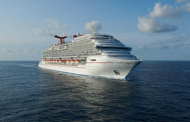 Auch die Carnival Panorama kommt wieder zum Einsatz. Foto: Carnival Cruise Line
