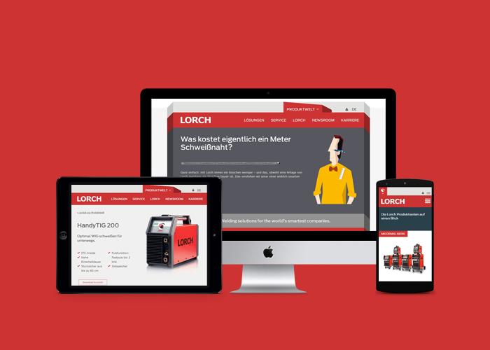 Internetagentur Stuttgart anders und sehr - Website Relaunch Lorch GmbH