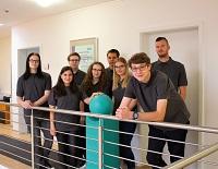 Die neuen Auszubildenden und Studierenden bei imbus