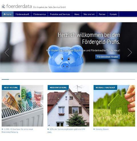 kostenlose Förderauskunft unter www.foerderdata.de