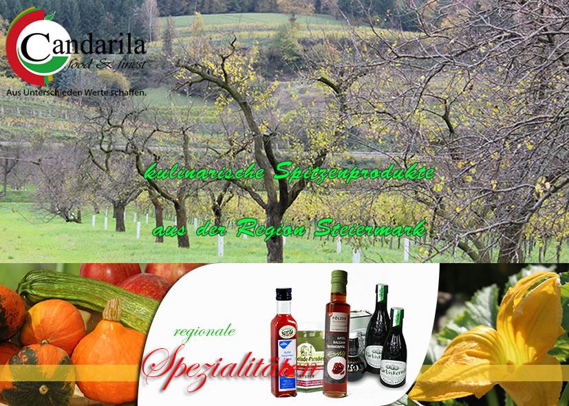 Essen & Trinken aus der Steiermark - Candarila