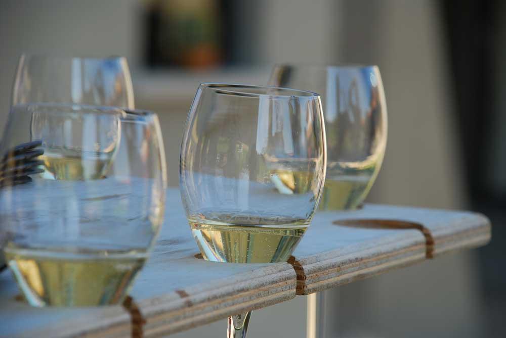 Weinverkostung, Franciacorta, Brescia