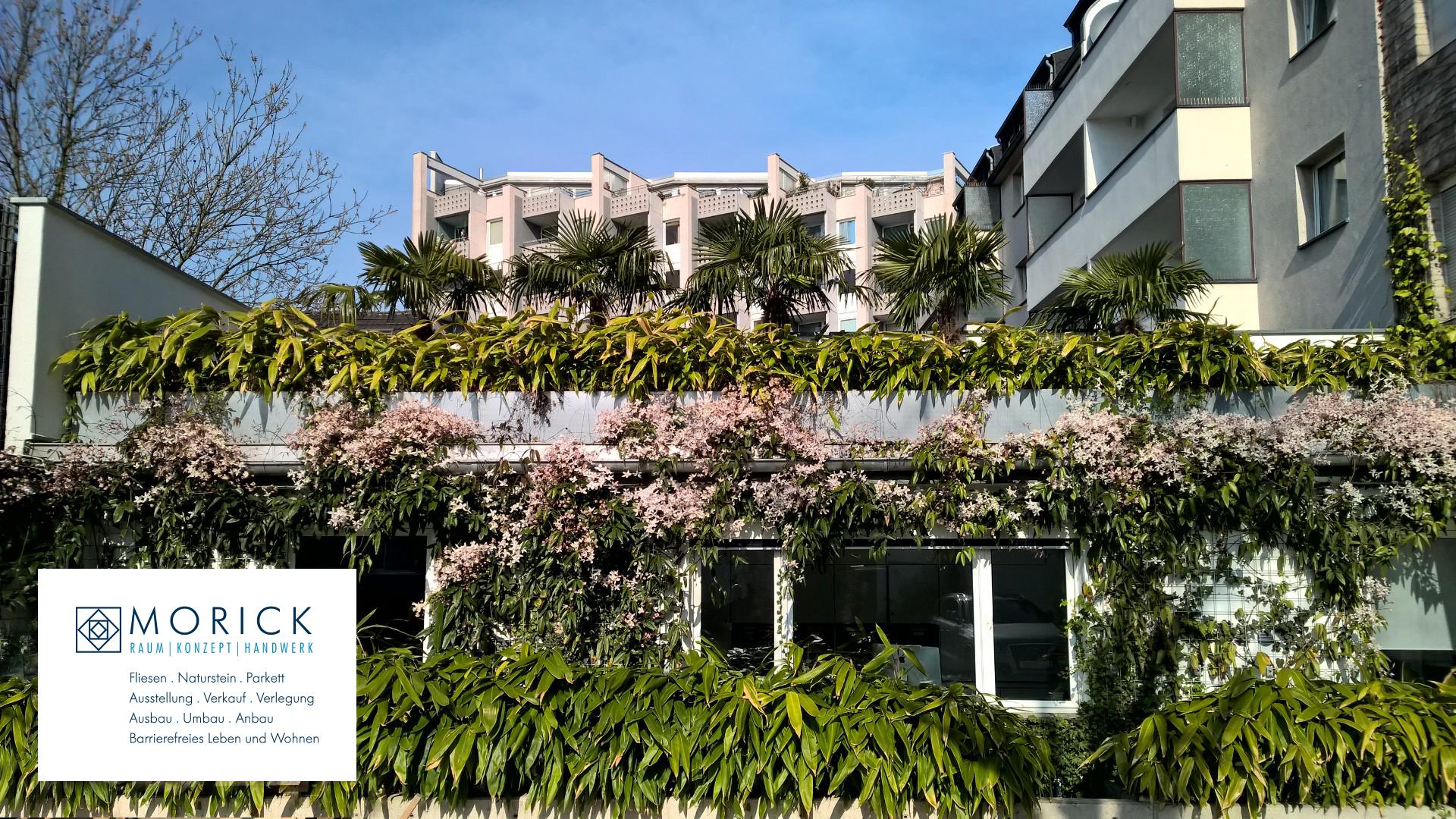 Grüner Gewerbehof bei der Morick GmbH
